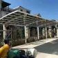 铝合金汽车停车棚 阳光板车棚 铝合金车棚 铝合金停车棚 质保十年